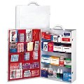 Commercial First Aid, 4 Shelf First Aid Cabinet