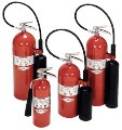 Badger Carbon Dioxide Fire Extinguisher