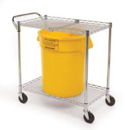 Speakman SE-4360 Eyewash Cart & Collection Bucket