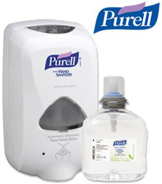 PURELL 1,000 ml NXT Advanced Instand Hand Sanitzier System