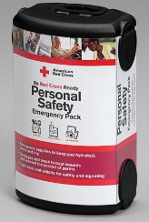 First Aid Only RC-612 American Red Cross Personal Safety Emergency Pack