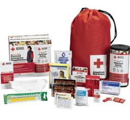 First Aid Only RC-622 American Red Cross Personal Safety Pack w/ Backpack