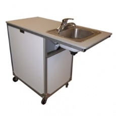 MONSAM ADA Stainless Steel NSF Certified Portable Sink