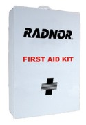Radnor Four-Shelf Empty First Aid Cabinet - RAD64058002