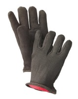 Radnor 14 oz. Fleece Lined Brown Jersey Gloves