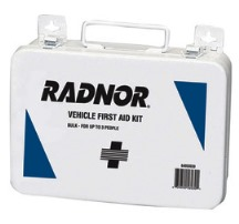 Radnor 3 Person Metal Vehicle First Aid Kit