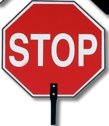 Stop Sign Paddle