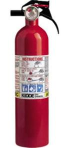 BC Fire Extinguisher - Kidde Kitchen & Garage Fire Extinguisher - 10B:C, # 466141
