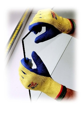 Kevlar® Cut Resistant Seamless Knit Glove W/ Specialty Grips