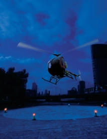 E-Flare Helicopter Landing Zone Kits - Eflare LED HZ510 Warning Beacons