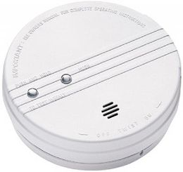 kidde smoke alarm with hush button 0916k. Black Bedroom Furniture Sets. Home Design Ideas