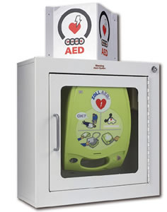 Zoll Defibrillator Wall Bracket and Wall Mounting Boxes