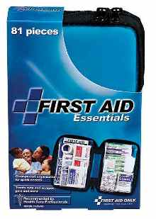 First Aid Kit, All Purpose Softsided 81 Piece First Aid Kit - FAO-422