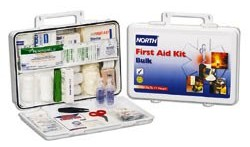North 75 Person Plastic Bulk First Aid Kit