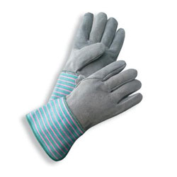 Select Shoulder Full Leather Back Work Gloves