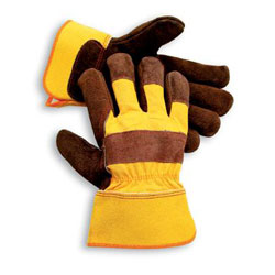 Radnor Select Split Cowhide Select Shoulder Leather Palm Work Glove