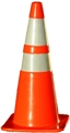 "Highway Cone - 28"", 4"" and 6"" Stripe"