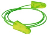 Moldex Goin' Green Earplug, Corded, NRR 33dB, 100 Pair/Box