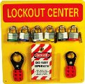 Lockout Tagout Center - Yellow
