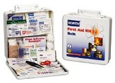 North Bulk 50 Person Metal First Aid Kit For Industry, Governement and Education