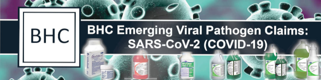 Brulin (BHC) Six EPA Emerging Viral Pathogen Claim Products