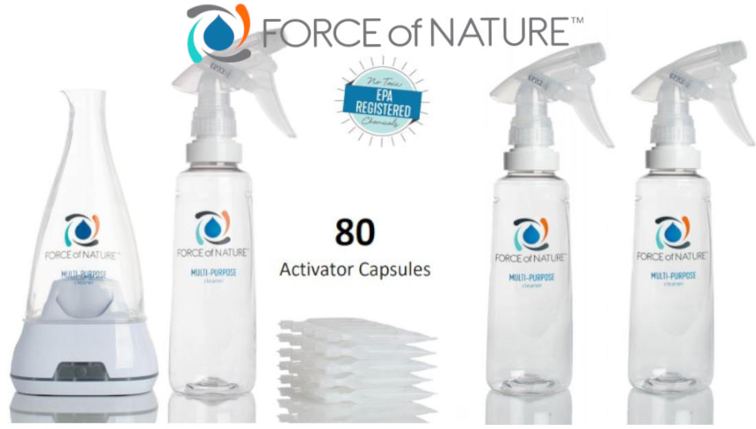 Force of Nature Natural Cleaner & Disinfectant