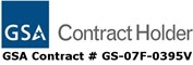 GSA Contract Holder Number GS-07F-0395V