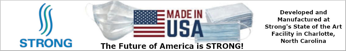 STRONG Made in USA Masks