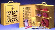 Prinzing Industrial Strength Lockout Tagout Station - 45532