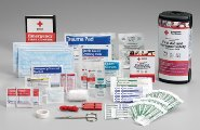 First Aid Only RC-617 American Red Cross Deluxe First Aid & Personal Safety Emergency Pack