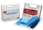 First Aid Only Economy Bloodborne Pathogen Personal Protection Kit 213-U