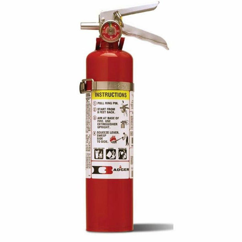 Badger Advantage 2.5 lb ABC Fire Extinguisher with Vehicle Bracket - 21007865