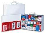 Commercial First Aid, 2 Shelf First Aid Cabinet