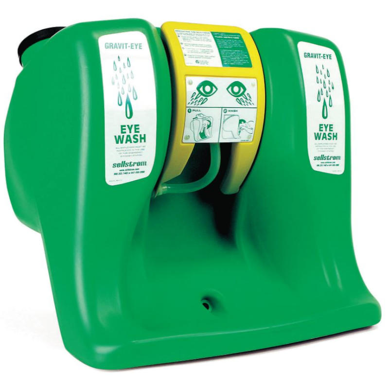Sellstrom 16 Gallon Gravit-Eye ANSI Portable Eyewash Station - 90320