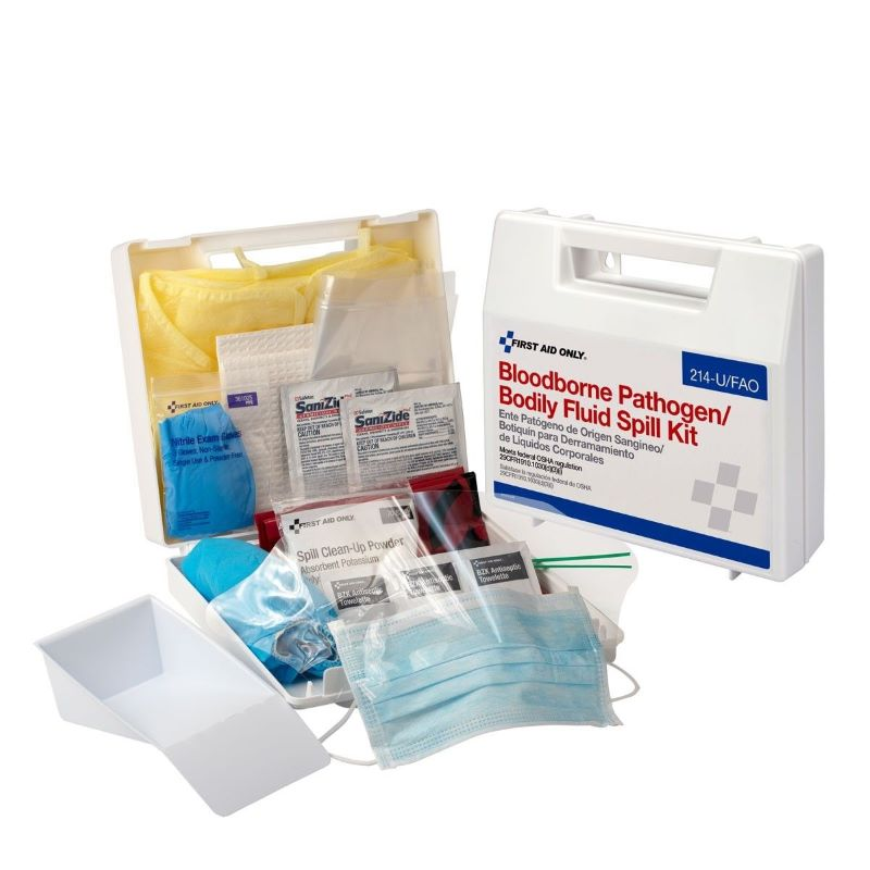 First Aid Only Bloodborne Pathogen Body Fluid Kit - 214-U/FAO