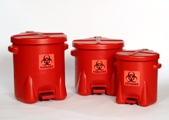 Eagle Biohazard Waste Cans