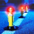 Eflare Two Color Flash LED Flare - Hazmat Flare Flashing Beacon, Model HZ-530