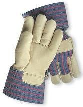 Radnor Premium Grain Pigskin Leather Palm Gloves Lined with 3M Thinsulate Insulation