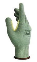 Ansell Vantage 70-765 String Knit Gloves with Leather Palm Gloves- 1 Pair