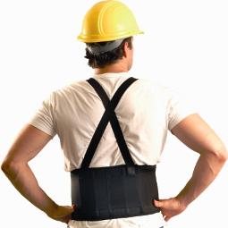OccuNomix Super Econo Maxx Back Support Belt, 2 Panel W/ Detachable Suspenders - # 626