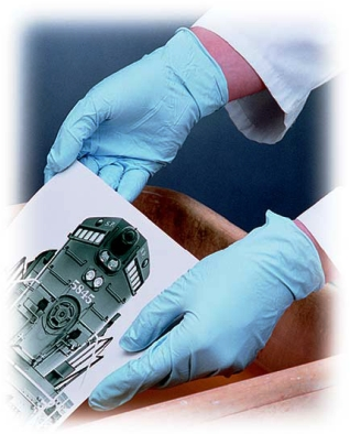 Disposable Nitrile Gloves - Latex Free Industrial & Medical Gloves