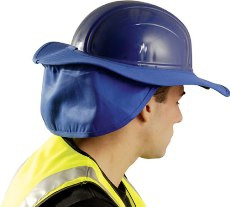 9813d6184 OccuNomix Hard Hat Shades Hard Hat Sweatband W/ Neck Shade