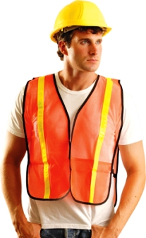 OccuNomix Economy Hook & Loop NON-ANSI Mesh Safety Vest