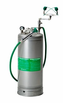 Haws 13 Gallon Stainless Steel Portable Eyewash Tank With Body Spray