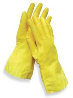 Radnor Unsupported Natural Rubber Latex Gloves With Pattern Grip