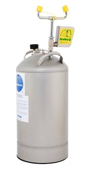 Bradley Eye Face Wash 10 Gallon Tank with Drench Hose