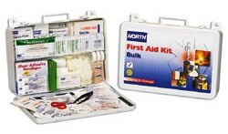North Bulk First Aid Kit, 75 Person, Metal