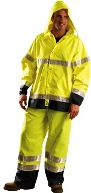 Occunomix Premium Rainwear with Breathable Gloss Jacket/Pants LUX TJRGT