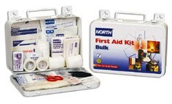 North 25 Person Metal Bulk First Aid Kit