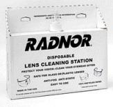 Radnor Disposable Lens Cleaning Station